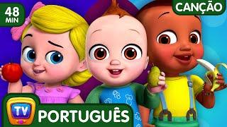 Sim Sim Musica das Frutas (Yes Yes Fruits Song)   Canções para Crianças   ChuChu TV Coleção