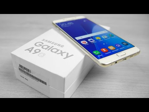 Samsung Galaxy A9 - Unboxing & Hands On!