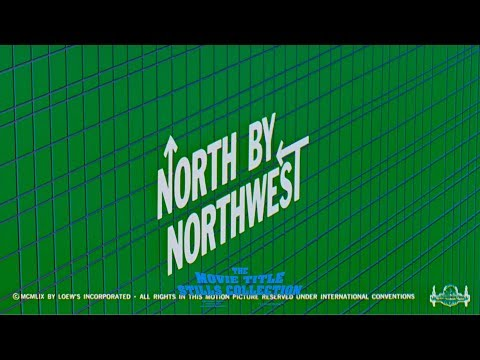 Saul Bass: North by Northwest (1959) title sequence