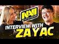 Долгожданное Интервью с NAVI Zayac