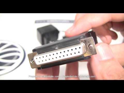 Conversor RS232 a RS422 RS485 de Aten modelo IC-485AI distribuido por CABLEMATIC ®