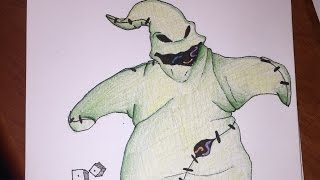 Ep. 5: How to Draw/Colour Oogie Boogie