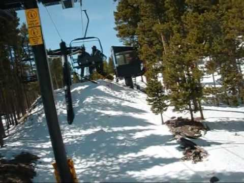 """Adventures of a Snowboard Newbie - Part One - """"The Lift"""""""