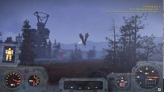 Fallout 76 Friendly Scorchbeast!