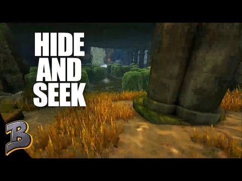 Betting on a Game of Hide and Seek! Ark Survival Evolved PvP -The Volcano- Ep 28