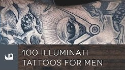 100 Illuminati Tattoos For Men