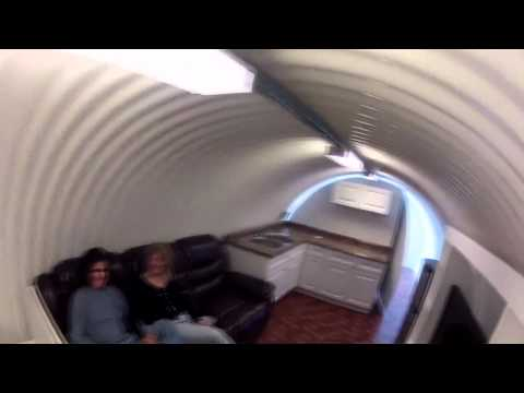Atlas Survival Shelters: Corrugated 10'x50′ Underground Home Virtual Tour