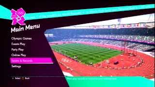 London 2012 Video Game - Online Gameplay PS3
