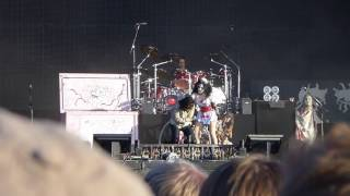 Alice Cooper Paranoiac Personality (new song) + Ballad of Dwight Fry @ WOA 2017