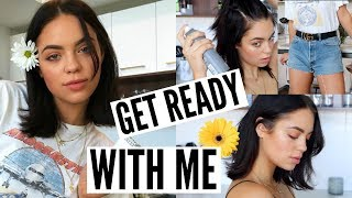GET READY WITH ME: Makeup, Hair & Outfit for the Summer!