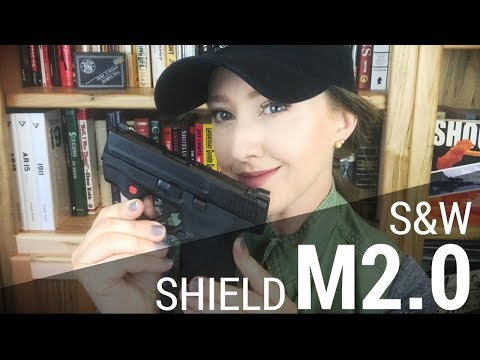 NEW S&W M&P Shield M2.0 (with laser option) | JulieG.TV