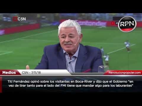 Tití Fernández estuvo con Iván y Darío: destruyó a Macri por