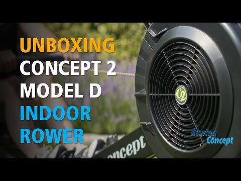 Unboxing & Review of Concept 2 Model D PM5 Rowing Machine