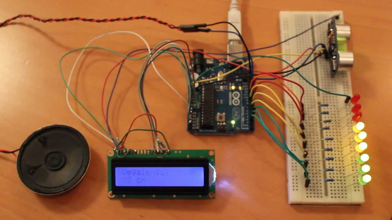 arduino parking lot This program is just to control a car parking lot using ping sensors and servo motor servo motor acts as the gate here when the first ping sensor detects the car the gate opens and when the car crosses the second ping sensor the gate closes and correspondingly the number of parking lots left are shown on a lcd screen.