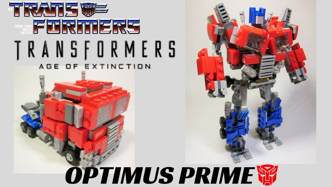 How To Build Lego G Optimus Prime