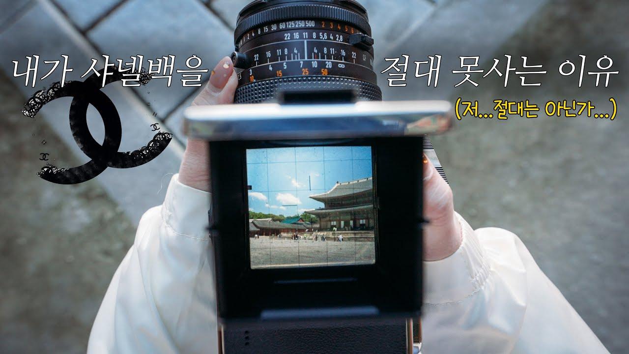 샤넬백 안 사고, 이 카메라를 구입한 이유 (핫셀블라드 503CX, 907X, CFV II 50C)