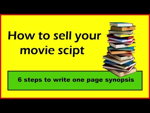 How to sell your movie script
