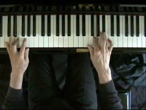 Learn blues piano lesson 7