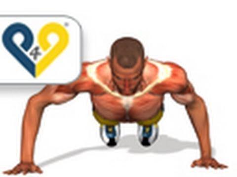 Spartan Push Up (300 workout)