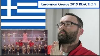 🇬🇷🇬🇷 Greece Eurovision 2019 REACTION 🇬🇷🇬🇷