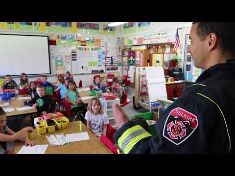 Introducing the Cancer Prevention project at Farmin Stidwell Elementary School