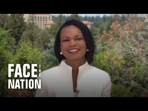 """Condoleezza Rice to Trump: """"Twitter and tweeting are not great ways for complex thoughts"""""""