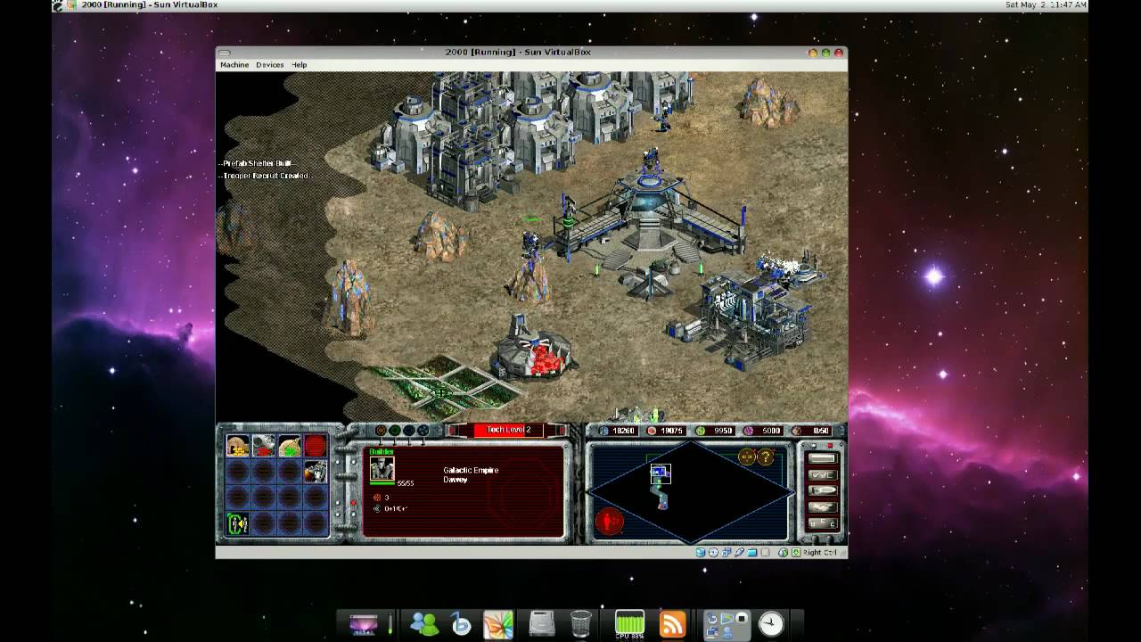 Virtualbox: Age of Empires II and Galactic Battlegrounds