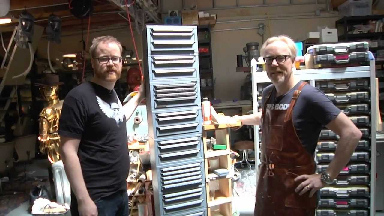 diy garage tool storage ideas - Inside Adam Savage s Cave The Tool Boxes