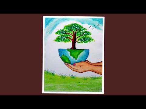 save-nature-save-earth-drawing-|-environment-day-drawing-for-beginners