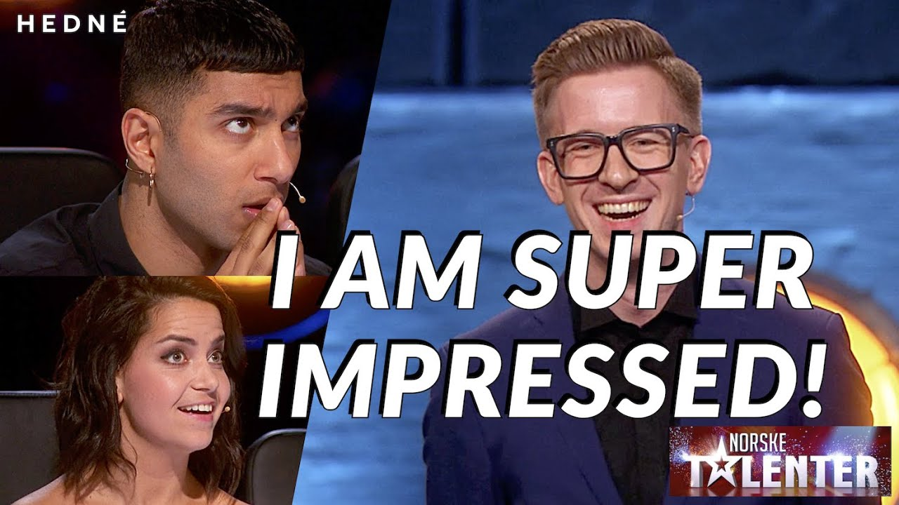Download AMAZING CARD MAGIC AND MENTALISM! HEDNÉ fools all the judges!|Norway's Got Talent 2017(SUBTITLED)