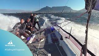 #SailingAllTogether Week 1 | Battling 46knot gusts...