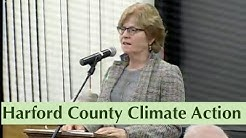 Concerned residents respond to Harford County Council on Climate Change