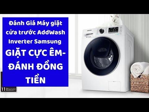 Đánh Giá Máy Giặt Cửa Trước AddWash Inverter Samsung WW85K54E0UW / SV 8.5kg