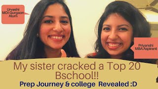 Arts Graduate Sister cracks Top 20 Bschool: Q&A on her journey | Ft. Priyanshi Jain