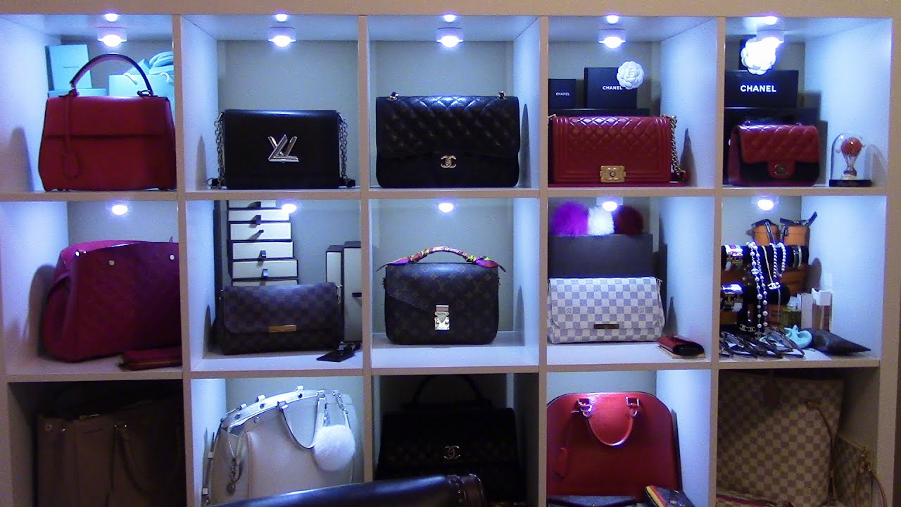 How And Where I Store My Handbags My Little Space Tour