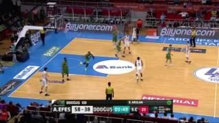 Anadolu Efes - Darüşşafaka Doğuş Yarı Final 2. Maç Üçlükler