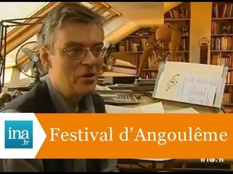 François Schuiten, grand prix du Festival d'Angoulême 2002 - Archive INA
