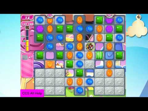 Candy Crush Saga Level 2550 NO BOOSTERS Cookie