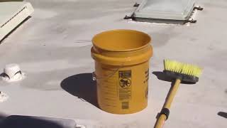 Restore your Rubber Roof with Dicor EPDM Roof Coating System