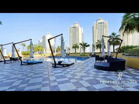 Apartment for Rent at  Pearl Qatar / Madina Central Doha-Ref #7170 By Property Hunter