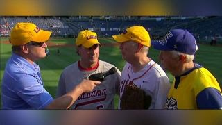 Congressmen talk playing baseball in honor of Rep  Scalise
