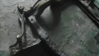 опель вектра (ремонт крепления подрамника)