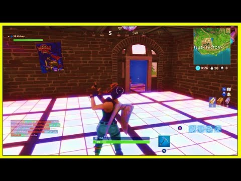 Fortnite: 'DANCE ON DIFFERENT DANCE FLOORS' (CHALLENGE LOCATIONS!) | Fortnite Week 8 Challenge!