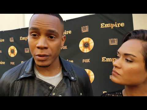 'Empire' stars Trai Byers and Grace Gealey talk Andre and Anika to Gold Derby