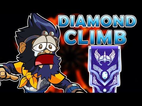 WARNING: PAIN INDUCING - Wu Shang To Diamond - Brawlhalla Gameplay
