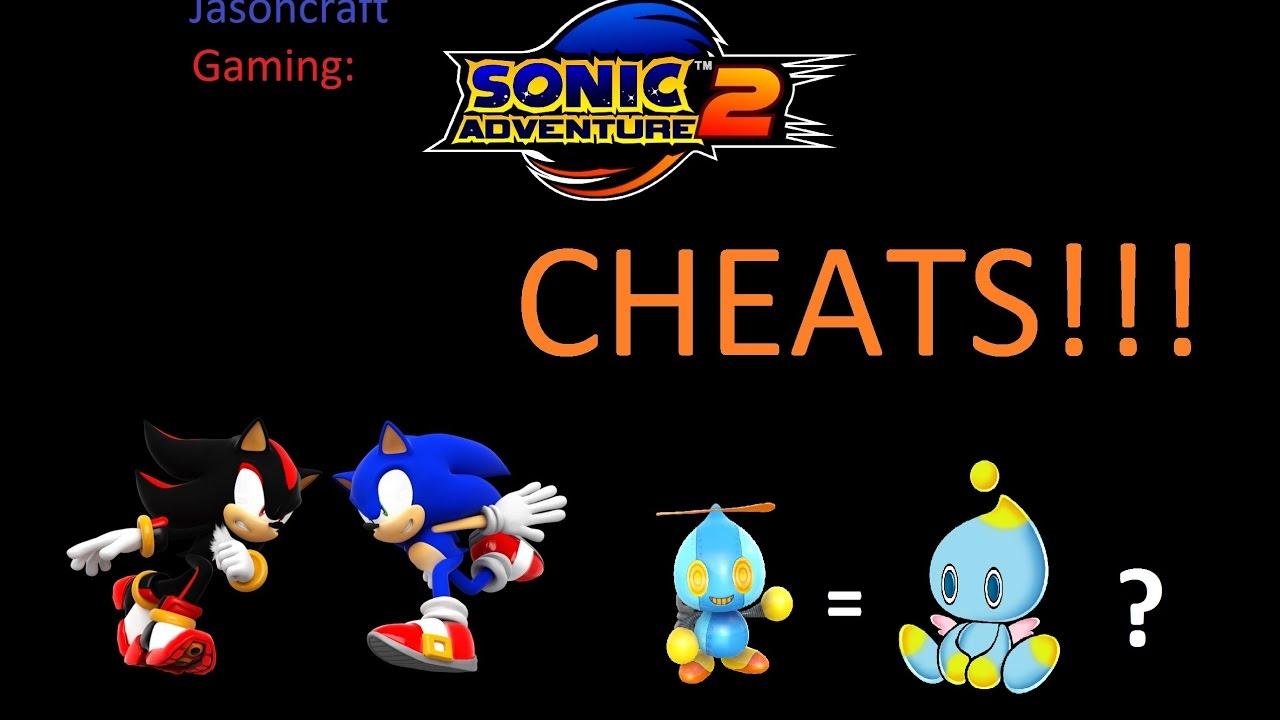Cheat codes sonic adventure 2