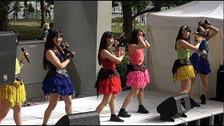 2019/9/29 ダイバーシティ東京プラザ2Fフェスティバル広場で開催されたアリス十番(仮面女子)のインストアライブの模様です。 撮影エリアが下...