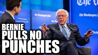 Sassy Bernie Sanders Sh*ts on Jeff Bezos on His Home Turf... Numerous Times