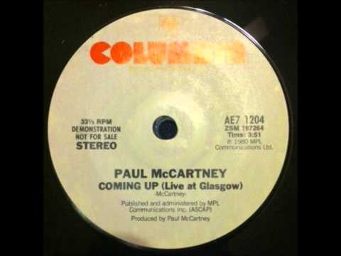 Rare Paul McCartney - Coming Up - Live At Glasgow (Promo For Columbia Records)
