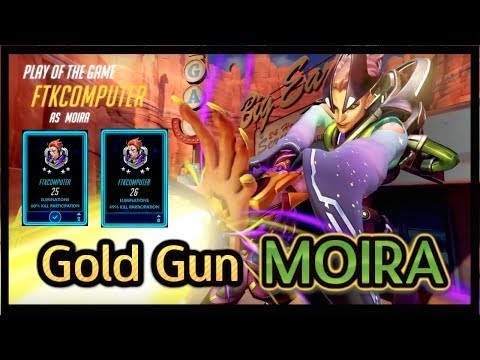 Symmetra Main Destroying With Moira! (Overwatch Gameplay)